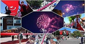 Gençlik Bayramından Renkli Görüntüler