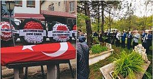 Üzücü olayda vefat eden polis memuru dualarla uğurlandı