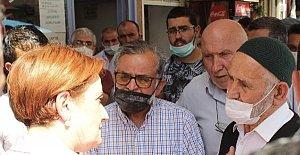 Bartın'da Akşener'e Vatandaştan Tepki