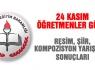 24 Kasım Öğretmenler Günü yarışmaları sonuçlandı