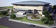 2500 kişilik spor salonu