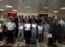 56 girişimci adayı belgelerini aldı