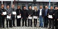 Ak Partili Belediye Meclisi Üyeleri Mazbatalarını Aldı