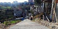 Aladağ'da Beton Yol Ulaşıma Açıldı
