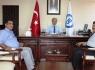 Alagöz'den Rektör Kaplan'a veda ziyareti