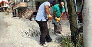 Alt yapı ekipleri mesken mesken geziyor