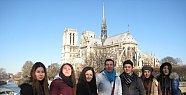 Amasralı Öğrenciler Fransa Hareketliliğini