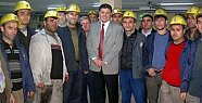 Amasra'ya madenciler için sağlık merkezi