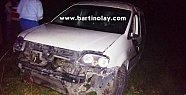 Araç Şarampole Yuvarlandı, 1'i Ağır 4 yaralı