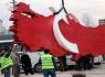 Ay-Yıldızlı Türkiye Haritası Anıtı Kemer Meydanı'nda