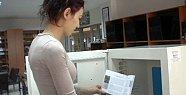 Bartın'da bir ilk: Kitap yıkama makinası