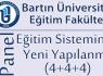 Bartın Üniversitesi'nde 4+4+4 Eğitim Sistemi Konuşulacak