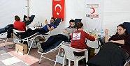 Bartın Üniversitesi'nden Kan Bağışına