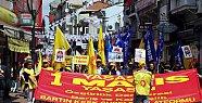 Bartın'da 1 Mayıs Kutlamaları Kısa Sürdü
