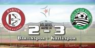 Bartınspor havlu attı: 2-3