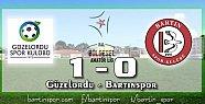 Bartınspor Ordu'da Kayıp: 1-0