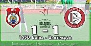 Bartınspor Samsun'da Tekledi: 1-1
