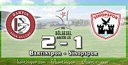 Bartınspor Sinopspor'u Puansız Uğurladı: 2-1