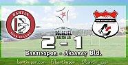 Bartınspor sonradan açıldı: 2-1