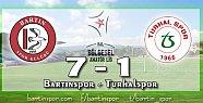 Bartınspor Turhal'a Patladı: 7-1