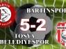 Bartınspor yeniden yarışa ortak oldu:5-2
