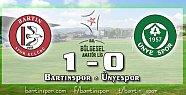 Bartınspor'a Mehmet Can Verdi: 1-0