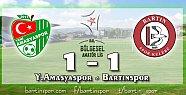 Bartınspor'dan Yeni Amasya'ya Çelme: 1-1