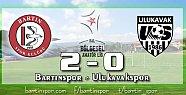 Bartınspor'un Onur'u Var: 2-0