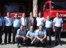 Başkan Akın'dan itfaiye personeline ziyaret