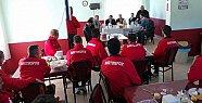 Başkan Bartınspor'la Yemekte
