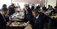Başkan Gazetecilerle Kahvaltıda Buluştu