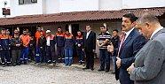 Başkan temizlik işçileriyle toplantı yaptı