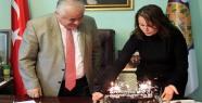 Başkan'a Sürpriz Yaşgünü Kutlaması