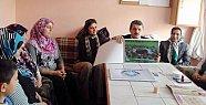 Başkan'dan Tel Kırma Kursuna ziyaret