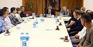 Başkan'ın personelle toplantıları sürüyor
