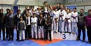 Batı Karadeniz Taekwondo Şampiyonası Amasra'da Yapıldı