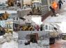 Belediye ekipleri gece gündüz karla mücade ediyor