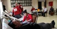 Belediye'de kan bağışı organizasyonu