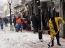 Belediye'den 150 yaya kar kürüme işçisi