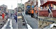 Belediye'nin Yol Çalışmaları Devam Ediyor