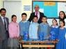 Bir destek de Terkehaliller Köyü İlköğretim Okulu'ndan