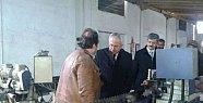 Bölge Müdürü Beşel, Ulus'ta Sanayicileri