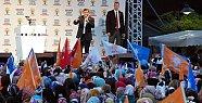 Davutoğlu Bartın'dan %65 Oy İstedi