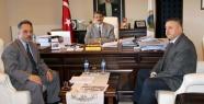 DSİ Şube Müdürü'nden Başkan'a ziyaret