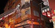 Eski Binanın Balkonu Böyle Çöktü -