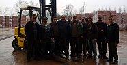 Forklift Operatörlüğü kursu tamamladı