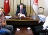 Gazetecilerden Yalçınkaya'ya ziyaret