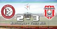 Gol düellosunun galibi Tosya: 2-3