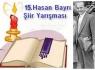 Hasan Bayrı Şiir Yarışması 15. kez gerçekleştirilecek
