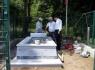 Hasan Hüseyin Oğuz'un mezarını ziyaret